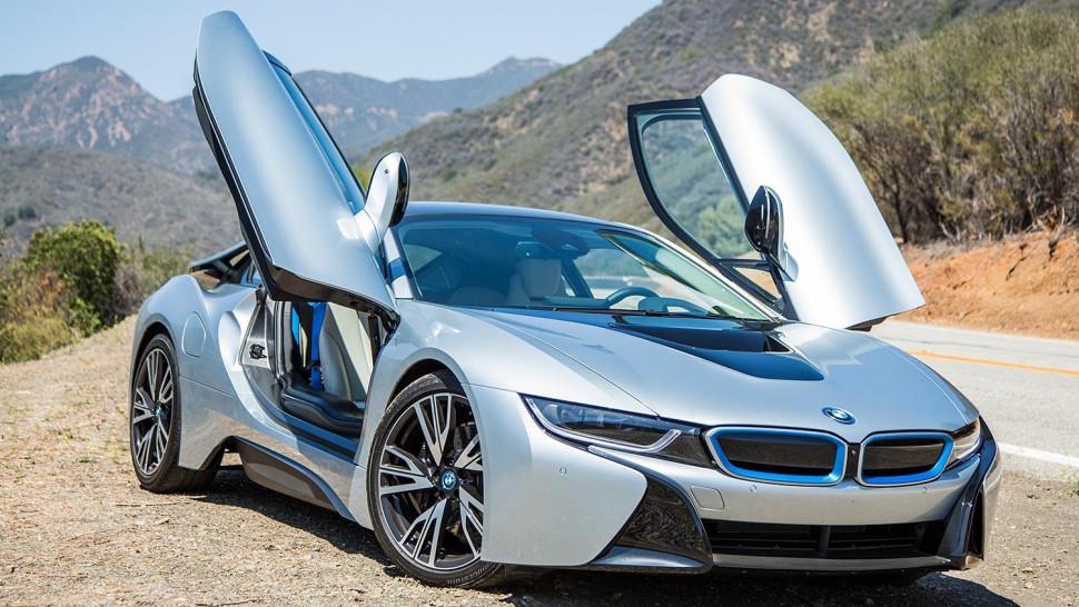 Супер тест драйв от Давидыча BMW i8